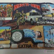 Figuras de Goma y PVC: SOBRE MONTA / PLEX ( MONTA - MAN ) EXTRA 11. Lote 43468570