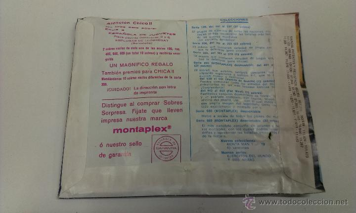 Figuras de Goma y PVC: SOBRE MONTA / PLEX ( MONTA - MAN ) EXTRA 11 - Foto 2 - 43468570