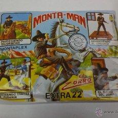 Figuras de Goma y PVC: SOBRE MONTA / PLEX ( MONTA - MAN ) EL ZORRO EXTRA 22. Lote 43468711