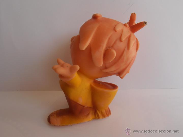 Figuras de Goma y PVC: MUÑECO DE GOMA PVC KINITO CON SONIDO VINO KINA SAN CLEMENTE AÑOS 70 - Foto 3 - 43477456
