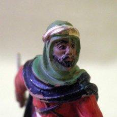Figuras de Goma y PVC: FIGURA DE GOMA, BEDUINO, LAWRENCE DE ARABIA, FABRICADO POR REAMSA, 1950S. Lote 43485504