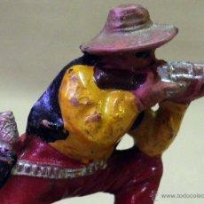 Figuras de Goma y PVC: FIGURA DE GOMA, VAQUERO O COW BOY, FABRICADO POR REAMSA, 1950S. Lote 43485629