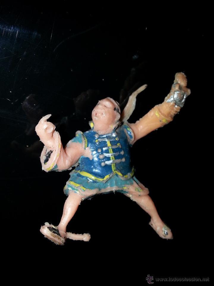 Figuras de Goma y PVC: ESTEREOPLAST : FIGURA DE SING-LI DEL COSACO VERDE ORIGINAL 100% AÑOS 60 - Foto 3 - 43523500