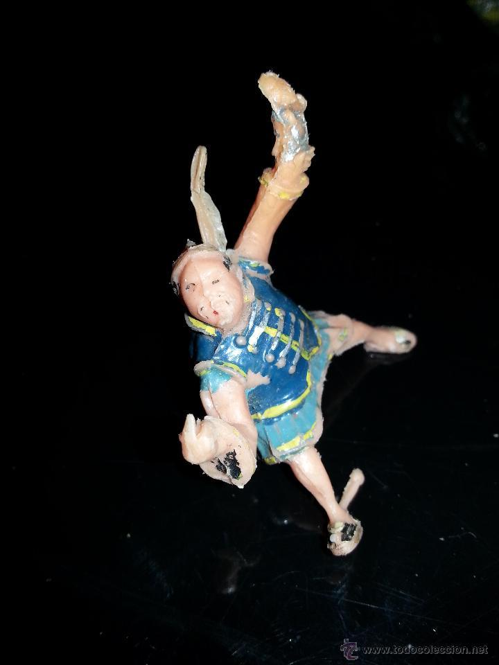 Figuras de Goma y PVC: ESTEREOPLAST : FIGURA DE SING-LI DEL COSACO VERDE ORIGINAL 100% AÑOS 60 - Foto 4 - 43523500