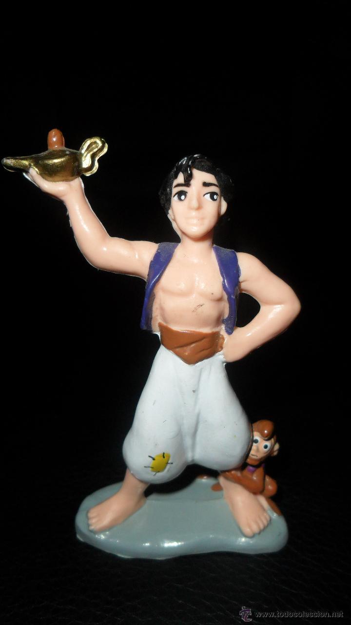 FIGURA PVC ALADDIN, MARCA BULLY DISNEY (Juguetes - Figuras de Goma y Pvc - Bully)