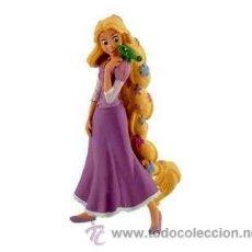 Figuras de Goma y PVC: FIGURA PVC DE RAPUNZEL CON FLORES - DISNEY - ORIGINAL DE BULLYLAND. Lote 43553619