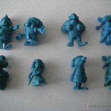 Figuras de Goma y PVC: 8 FIGURAS ASTERIX. DARGAUD. AÑOS 70. -ORIGINALES-. Lote 43592548