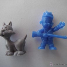 Figuras de Goma y PVC: 2 FIGURAS DUNKIN .WARNER.. Lote 43592686