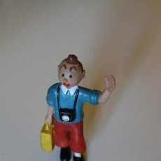 Figuras de Goma y PVC: MUÑECO DE GOMA. TINTÍN. COMICS SPAIN.. Lote 43669671