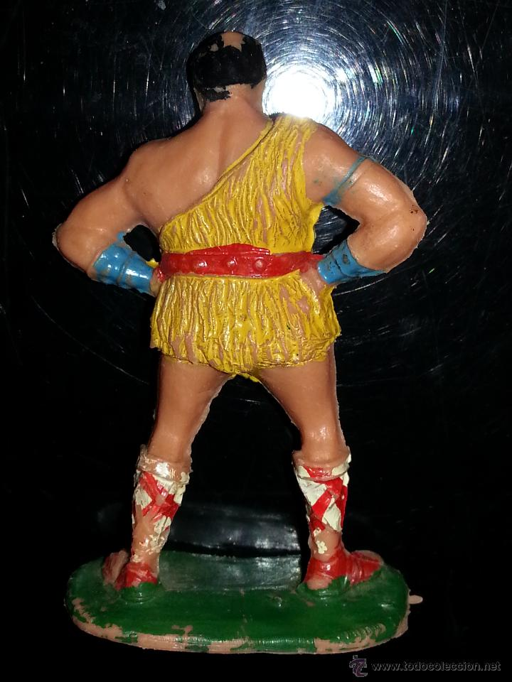 Figuras de Goma y PVC: ESTEREOPLAST: FIGURA DE TAURUS SERIE EL JABATO AÑOS 60 ORIGINAL 100% BUEN ESTADO - Foto 2 - 43712001