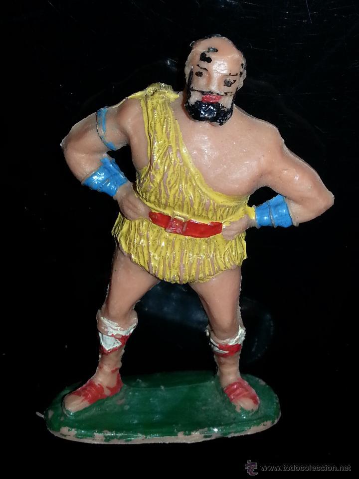 Figuras de Goma y PVC: ESTEREOPLAST: FIGURA DE TAURUS SERIE EL JABATO AÑOS 60 ORIGINAL 100% BUEN ESTADO - Foto 4 - 43712001