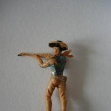 Figuras de Goma y PVC: VAQUERO DE JECSAN 6CM. Lote 43717504