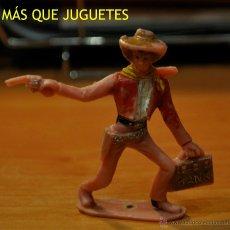 Figuras de Goma y PVC: ANTIGUO VAQUERO DE COMANSI. Lote 43810827