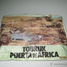 Figuras de Goma y PVC: ANTIGUO SOBRE SORPRESA TOBRUK PUERTA DE AFRICA - SIN ABRIR - AÑO 1970S.. Lote 243613825