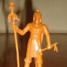 Figuras de Goma y PVC: GUERRERO INDIO DE YOLANDA, 1995. 10 CM DE ALTURA.. Lote 43949595