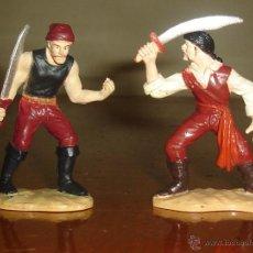 Figuras de Goma y PVC: LOTE DE DOS PIRATAS DE SAFARI. Lote 43949747