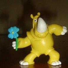 Figuras de Goma y PVC: RINOCERONTE ROMÁNTICO. MARCA SIMBA. FIGURA PROMOCIÓN ZUMOS UM BONGO.. Lote 43962604
