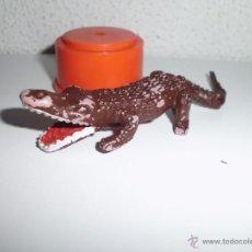 Figuras de Goma y PVC: ANTIGUO MUÑECO FIGURA COCODRILO . Lote 43993973