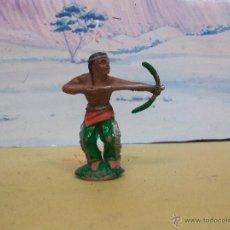 Figuras de Goma y PVC: FIGURA INDIO LAFREDO EN GOMA - FIGURA INDIO DE GOMA DE LA MARCA DE LAFREDO. Lote 44006516