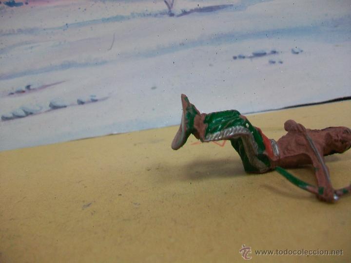 Figuras de Goma y PVC: FIGURA INDIO LAFREDO EN GOMA - FIGURA INDIO DE GOMA DE LA MARCA DE LAFREDO - Foto 2 - 44006516