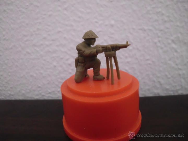 MUÑECO FIGURA CHICLE DUNKIN SOLDADOS DEL MUNDO SOLDADO AMERICANO AÑOS 70 (Juguetes - Figuras de Goma y Pvc - Dunkin)