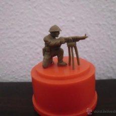 Figuras de Borracha e PVC: MUÑECO FIGURA CHICLE DUNKIN SOLDADOS DEL MUNDO SOLDADO AMERICANO AÑOS 70. Lote 44031714