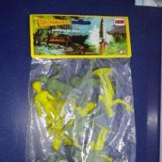 Figuras de Goma y PVC: BOLSA FIGURAS GUARDIANES DEL ESPACIO THUNDERBIRDS ORIGINALES AÑOS 70. Lote 44047207