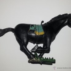 Figuras de Goma y PVC: ESTEREOPLAST : CABALLO KURDO AÑOS 60 DE LA SERIE COSACO VERDE EN BUEN ESTADO. Lote 44069924
