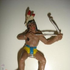 Figuras de Goma y PVC: GUERRERO INDIO DE COMANSI. Lote 44088539