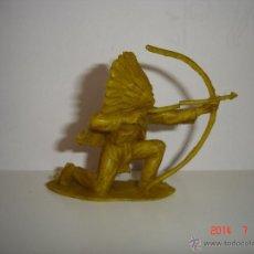 Figuras de Goma y PVC: FIGURA DE INDIO COMANSI. Lote 44089028