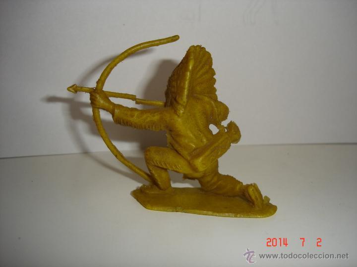 Figuras de Goma y PVC: FIGURA DE INDIO COMANSI - Foto 2 - 44089028