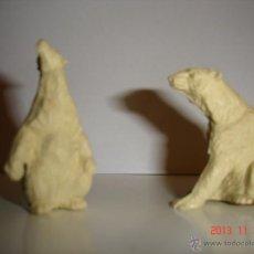 Figuras de Goma y PVC: DOS FIGURAS DE OSOS, JECSAN. Lote 44120337