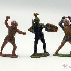 Figuras de Goma y PVC: 5 MEDIEVALES REAMSA GOMA AÑOS 50. Lote 44136375