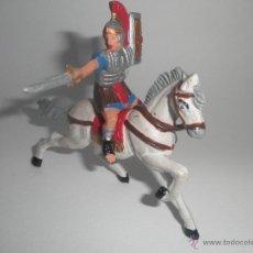Figuras de Goma y PVC: ROMANO A CABALLO LEGIONES ROMANAS DE REAMSA. Lote 44345936