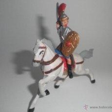 Figuras de Goma y PVC: ROMANO A CABALLO LEGIONES ROMANAS DE REAMSA. Lote 44345943
