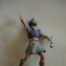Figuras de Goma y PVC: FIGURA MEDIEVAL EN PLASTICO 5CM. Lote 44452413