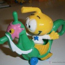 Figuras de Goma y PVC: FIGURA DE LOS SNORKELS ALLSTAR CON CABALLITO DE MAR.GUISVAL.1986.NUEVO. Lote 46024373