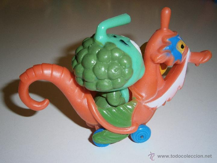 Figuras de Goma y PVC: Figura de los Snorkels Tooter con caballito de mar.GUISVAL.1986.Nuevo - Foto 2 - 45962163