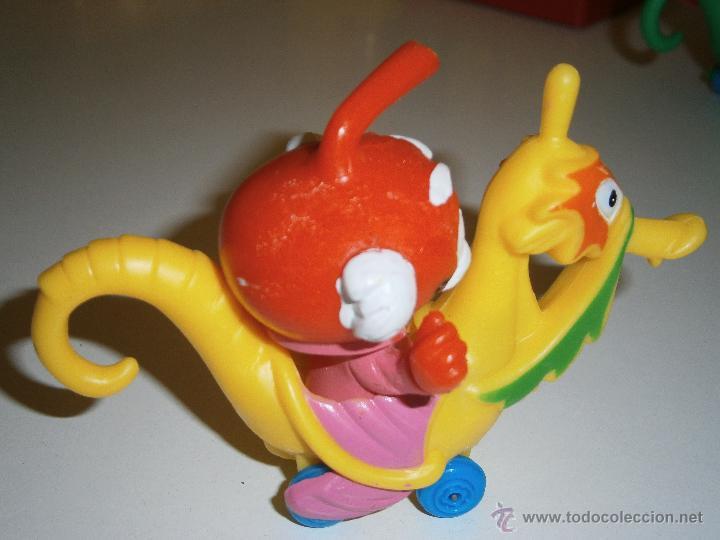 Figuras de Goma y PVC: Figura de los Snorkels Dr Galeo con caballito de mar.GUISVAL.1986.Nuevo - Foto 2 - 47172822