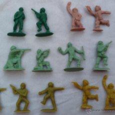 Figuras de Goma y PVC: LOTE DE SOLDADITOS DE PLÁSTICO MONTAPLEX. Lote 44716012