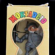 Figuras de Goma y PVC: PVC - COMIC SPAIN - MORTADELO DE LA MANCHA - PROMOCIÓN PARKER - TODO ORIGINAL. Lote 44738955