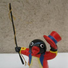Figuras de Goma y PVC: PINGU - FIGURA DE PVC - EDITOY - BULLYLAND - AÑO 1990.. Lote 44760138