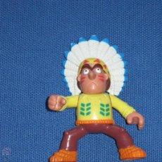 Figuras de Goma y PVC: FIGURA CON INDIO BRAZOS Y PIERNAS ARTICULADOS. Lote 44781077