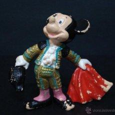 Figuras de Goma y PVC: FIGURA O MUÑECO GOMA PVC - MICKEY TORERO - BULLY. Lote 44786768