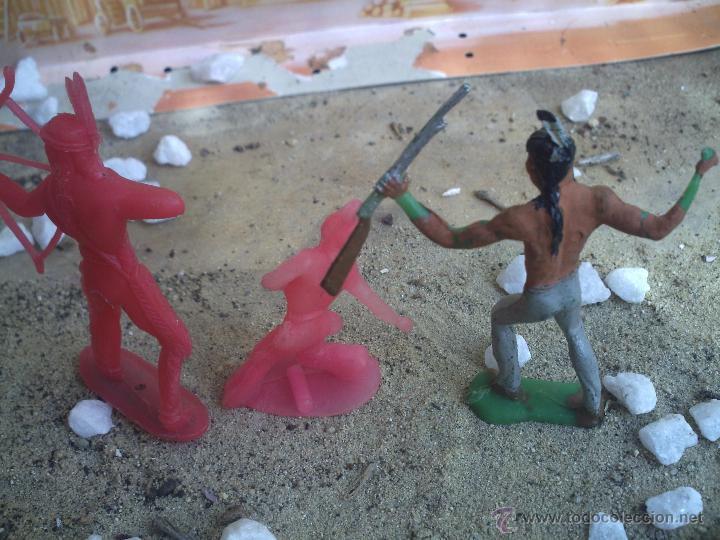 Figuras de Goma y PVC: tres indios piperos - Foto 2 - 44828332