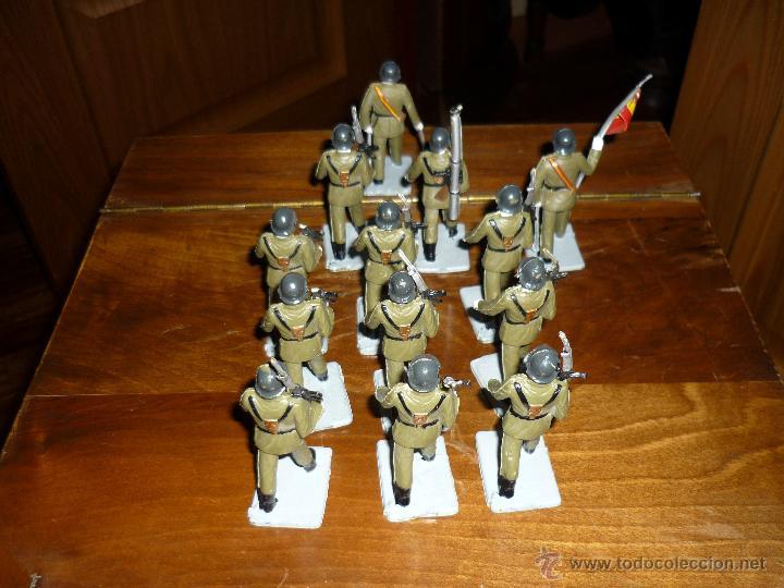 Figuras de Goma y PVC: SOLDIS DESFILES LA INFANTERIA ESPAÑOLA REAMSA SIN CAJA MUY BUEN ESTADO COMPLETOS - Foto 5 - 46240360