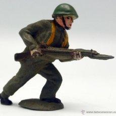 Figuras de Goma y PVC: SOLDADO AMERICANO MARINE 2ª GUERRA MUNDIAL REAMSA GOMA AÑOS 50. Lote 45052159
