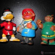 Figuras de Goma y PVC: 3 FIGURAS,EPI,GILITO Y PERSONAJE DE ROBIN HOOD. Lote 45118519