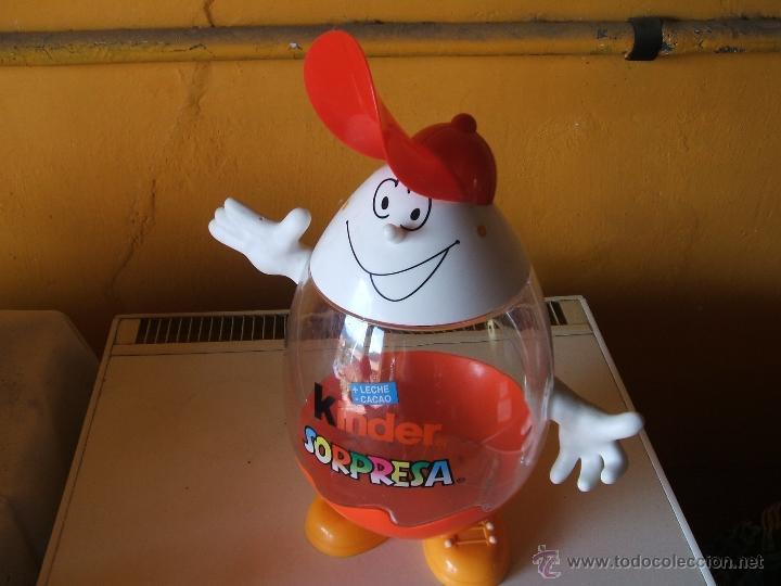 Figuras Kinder: EXPOSITOR HUEVOS CHOCOLATE KINDER SORPRESA. - Foto 3 - 200310520