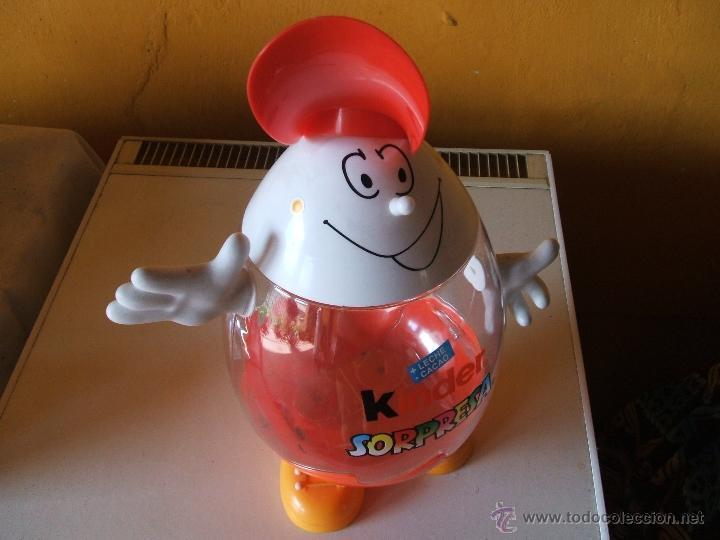 Figuras Kinder: EXPOSITOR HUEVOS CHOCOLATE KINDER SORPRESA. - Foto 4 - 200310520